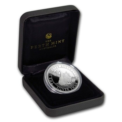 Swan 1 oz silver 2018 Proof