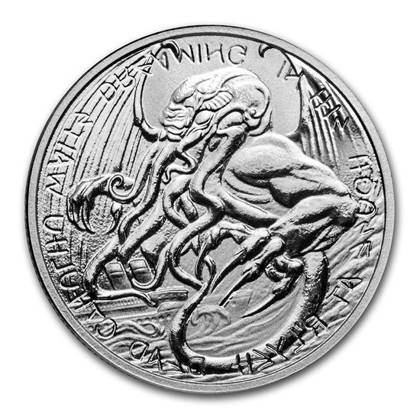 The Great Old One: Cthulhu 1 oz Silver 2021