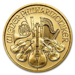 Vienna Philharmonic 1/10 oz Gold 2018