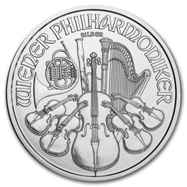 Vienna Philharmonic 1 oz Silver Investment Sets 500 Pc.