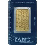 1 oz Gold Bar Pamp Suisse