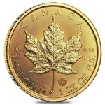 Canadian Maple Leaf 1 oz Gold 2020