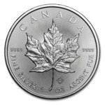 Canadian Maple Leaf 1 oz Silver 2015