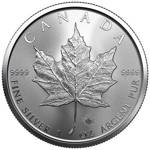 Canadian Maple Leaf 1 oz Silver 2021 Investment Sets 500 Pc.
