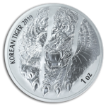 Korean Tiger 1 oz Silver 2019