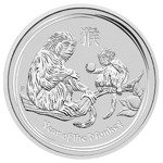 Lunar II: Year of the Monkey 2 oz Silver 2016
