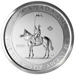 The 100th Anniversary of Royal Canadian Mounted Police 2 oz Silver 2020