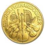 Vienna Philharmonic 1/4 oz Gold 1990