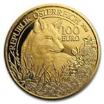 Wildlife in our Sights: The Fox 100 Euro 2016 Proof
