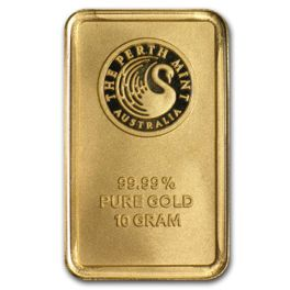 10 gram Goldbarren Perth Mint