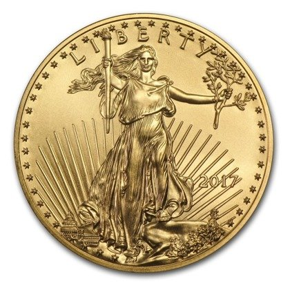 American Eagle 1/10 oz Gold 2017