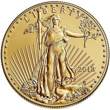 American Eagle 1/10 oz Gold 2018