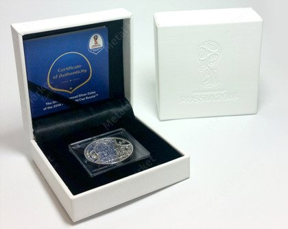 FIFA World Cup 1 oz Silber 2018 Proof