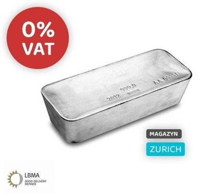 Investment Silver LBMA located at duty free magazine in Zurich