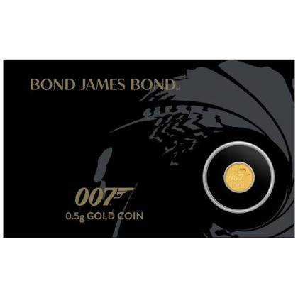 James Bond 007 0,5 g Gold 2020