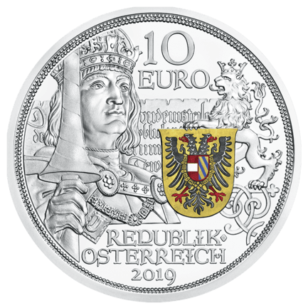 Knights' Tales: Chivalry 10 Euro 2019 Proof