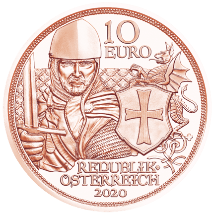Knights' Tales: Courage 10 Euro 2020 Copper