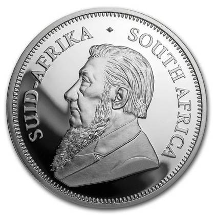 Krugerrand 2 oz Silber 2020 Proof