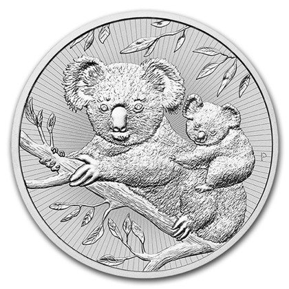 The Next Generation: Koala 2 oz Silber 2018
