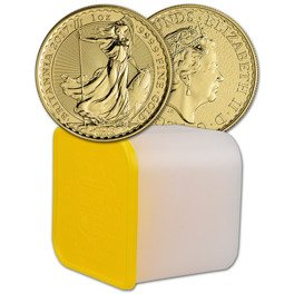 Tube Gold/Platin Britannia.The Queen's Beasts