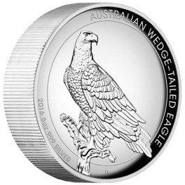 Wedge-Tailed Eagle 5 oz Silber 2016 Proof High Relief