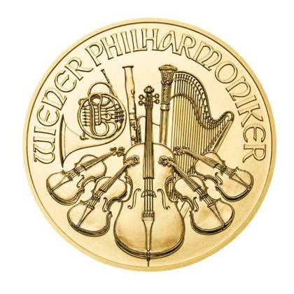 Wiener Philharmoniker 1/4 oz Gold 2021