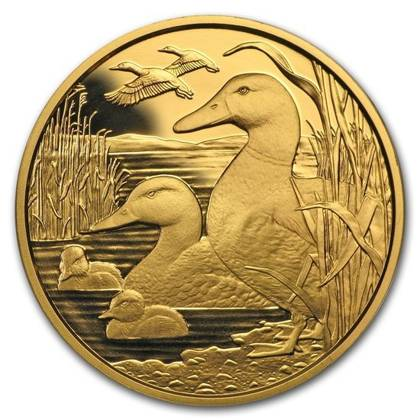 Wildlife in our Sights: The Mallard 100 Euro 2018 Proof