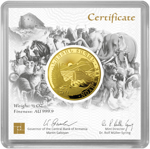 Noah's Ark 1/2 Oz Gold 2021