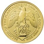 The Queen's Beasts 2019: The Falcon of the Plantagenets 1/4 oz Gold
