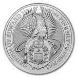 The Queen's Beasts: The Griffin 10 oz Silber 2018