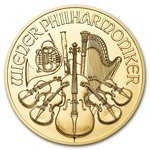 Wiener Philharmoniker 1 oz Gold 2019