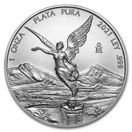 Meksykańska Bogini Wolności 1 uncja Srebra 2021 Proof
